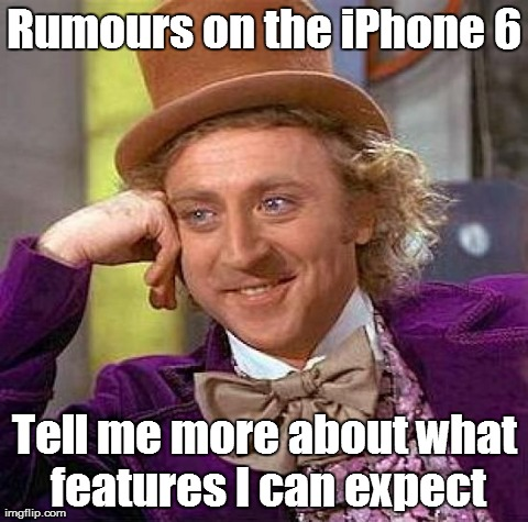 Rumours on the iPhone 6