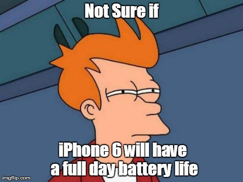 iPhone 6 will have a full day battery life